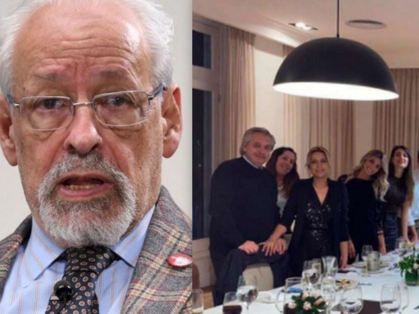 Horacio Verbitsky y la foto filtrada