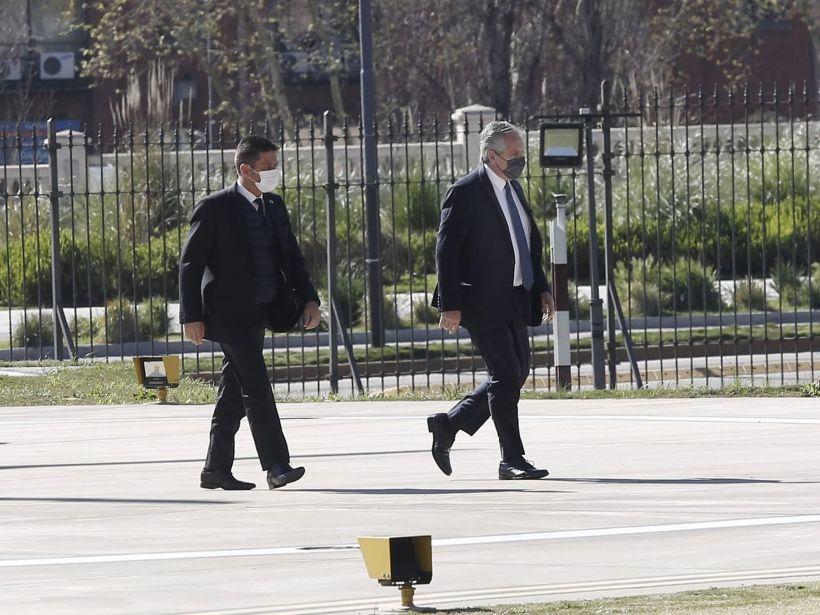 Alberto Fernández llegó a Casa Rosada tras la presentación de renuncia de ministros - ABC DiarioABC Diario