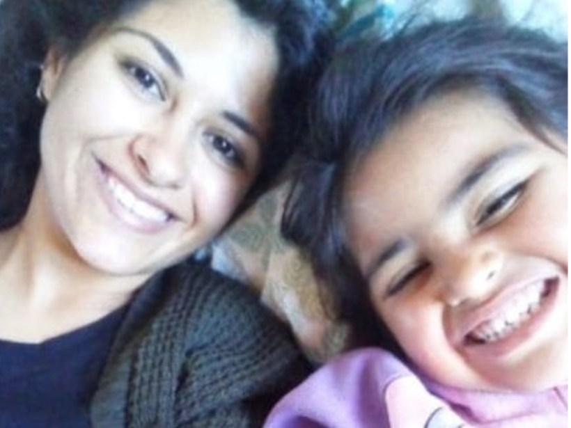 Guadalupe y su madre Yamila Cialone