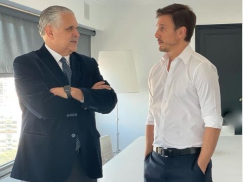 Ricardo López Murphy y Roberto García Moritán