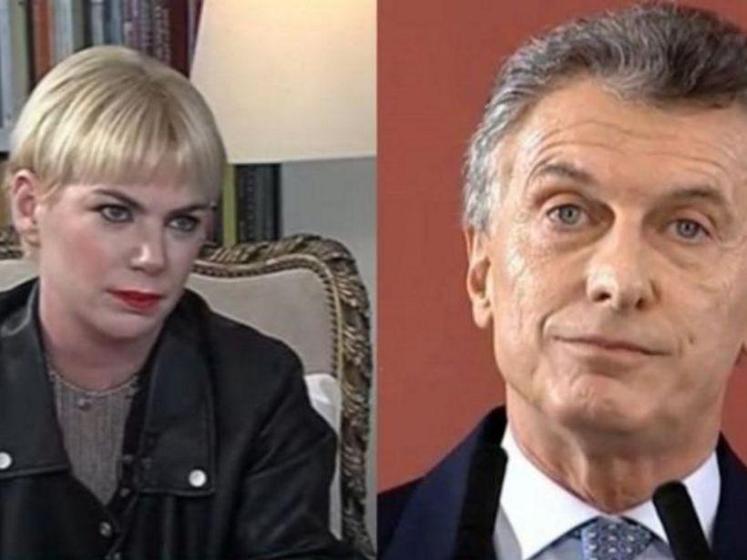 Esmeralda Mitre Mauricio Macri
