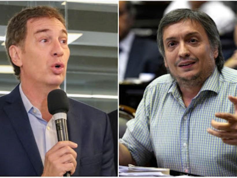 Máximo Kirchner Diego santilli
