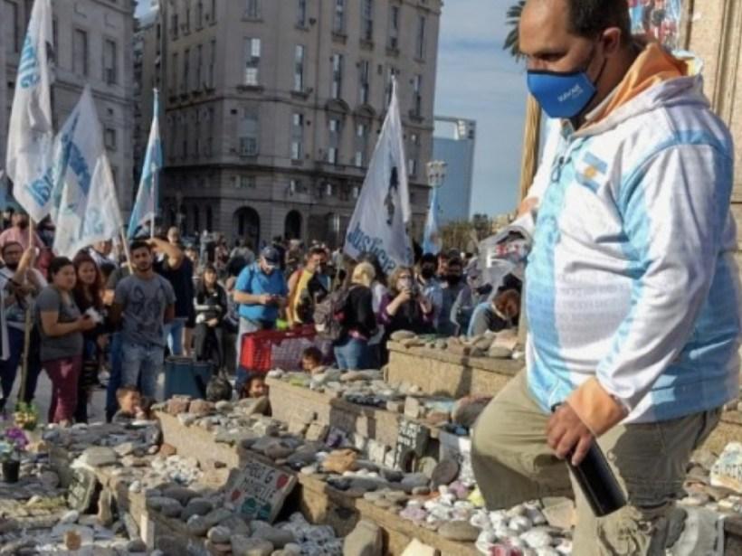 Aníbal opinó de la vandalización (Foto PTribuna)